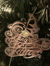 Load image into Gallery viewer, Commemorative Stingray Logo Christmas Tree Ornament