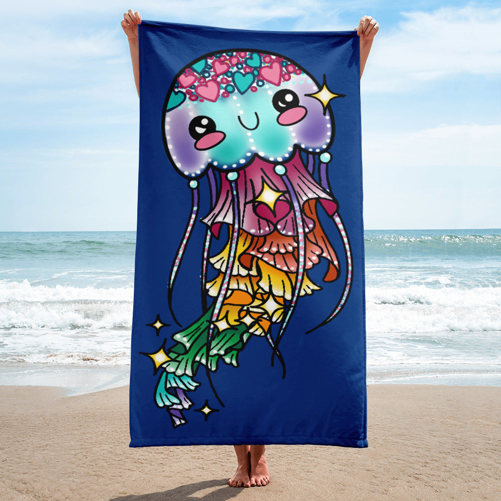 Jelly Fish-Beach Towel