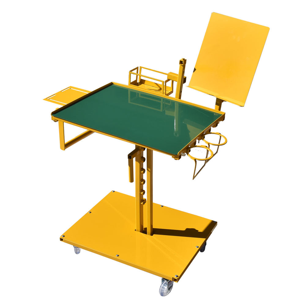 Yellow with Green table