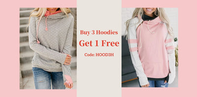 Buy 3 Hoodies,Get 1 Free