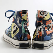 Graffiti Hand-painted Hip-hop Canvas Sneakers