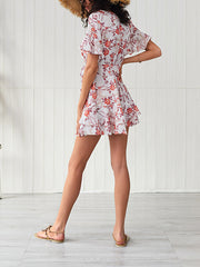 Small Floral Fresh Mini Dress