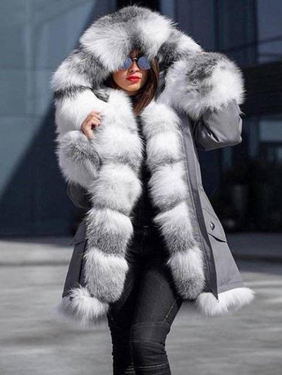 Fashionable Casual Cotton-Padded Coat