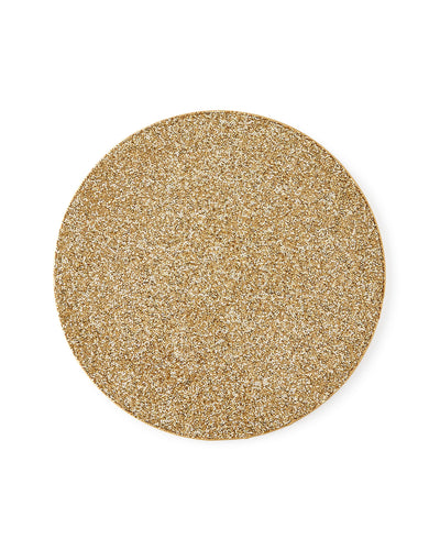 KIM SEYBERT Bling Placemat Gold $59 FREE SHIPPING OR PICK UP - GLOW ON SUNSET