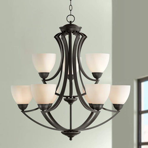 POSSINI Milbury Collection Dark Bronze 9-Light 30