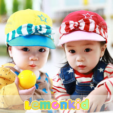 Load image into Gallery viewer, Lemonkid Star-Striped Mini Hat - BabyLand.my