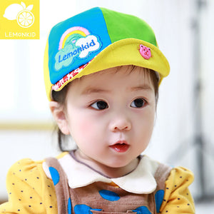 Lemonkid Rainbow Colourful Baby Cap - BabyLand.my