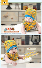 Load image into Gallery viewer, GZMM Monsters Beanie Hat + Bib Set - BabyLand.my