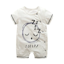Load image into Gallery viewer, First Movements Sleepy Baby Romper - BabyLand.my
