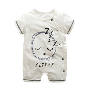 First Movements Sleepy Baby Romper - BabyLand.my