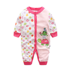 First Movements Baby Tortoise, Frog & Bird Romper - BabyLand.my