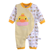 Load image into Gallery viewer, First Movements Swimming Duck Graphic Romper - BabyLand.my