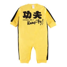 Load image into Gallery viewer, First Movements Yellow Kung-Fu Master Romper - BabyLand.my