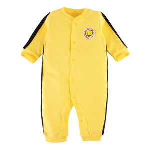 First Movements Yellow Kung-Fu Master Romper - BabyLand.my