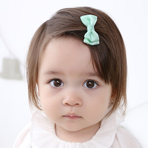 Angel Neitiri Bi-layer Bow-Knot Hair Clip (7 colours) - BabyLand.my