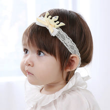 Load image into Gallery viewer, Angel Neitiri Crown Lace Headband (4 colors) - BabyLand.my