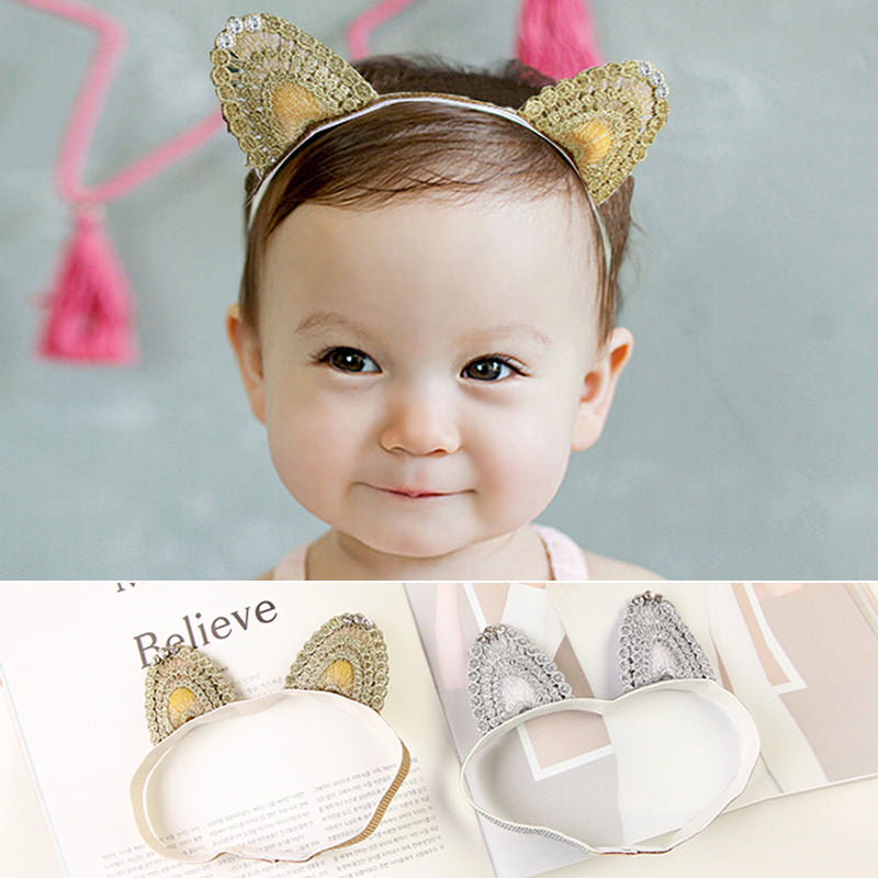Angel Neitiri Thread Kitten Ears Headband - BabyLand.my