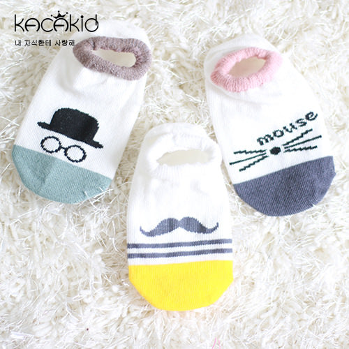 Kacakid Adorable Graphic Boat Socks - BabyLand.my