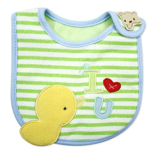MomsCare I Love You Little Duckling Bib - BabyLand.my