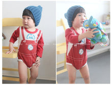 Load image into Gallery viewer, Augelute Cartoon Characters Bodysuit (Super Mario) - BabyLand.my