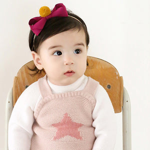 Angel Neitiri Color Hairball Bow-Knot Headband - BabyLand.my