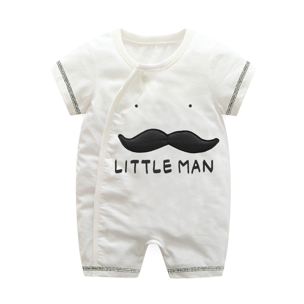 First Movements Little Man's Beard Romper - BabyLand.my