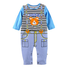Load image into Gallery viewer, First Movements Tiger King Braces Romper - BabyLand.my