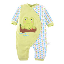 Load image into Gallery viewer, First Movements Eager Crocodile Romper - BabyLand.my