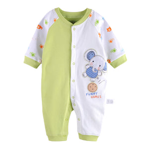 First Movements Playful Elephant Romper - BabyLand.my
