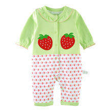 Load image into Gallery viewer, First Movements Fresh & Juicy Strawberries Romper - BabyLand.my
