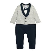 Load image into Gallery viewer, MomsCare Little Gentleman's Suit Romper - BabyLand.my