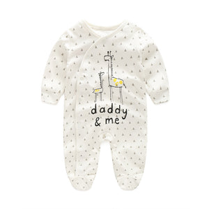 First Movements Giraffes 'Daddy & Me' Romper - BabyLand.my