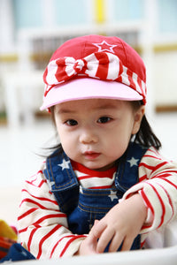 Lemonkid Star-Striped Mini Hat - BabyLand.my
