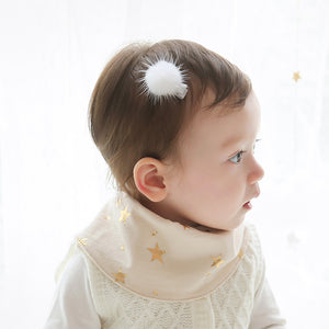 Angel Neitiri Furry Ball Hair Clip - BabyLand.my