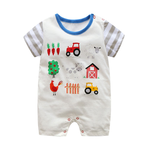 First Movements Farm's Lifestyle Romper - BabyLand.my