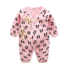 Load image into Gallery viewer, Baby Bathrobe Style Romper Series (Baby Panda) - BabyLand.my