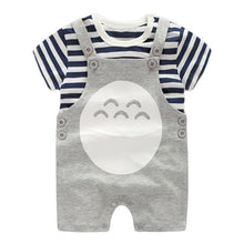 Load image into Gallery viewer, Baby Totoro Strappy Romper Set - BabyLand.my