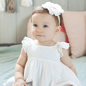 Angel Neitiri Tiered Flowers Lace Headband - BabyLand.my