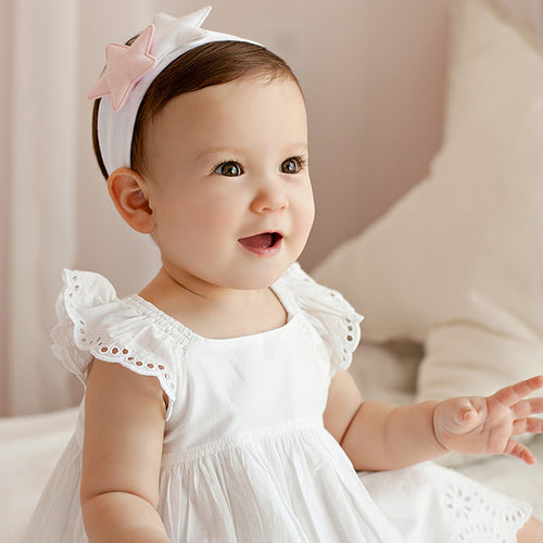 Angel Neitiri Double Cotton Stars Headband - BabyLand.my