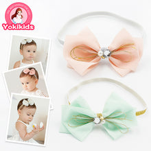 Load image into Gallery viewer, Sparkling Yarn Bow-Knot Headband - BabyLand.my