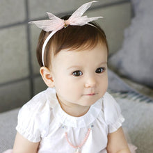 Load image into Gallery viewer, Angel Neitiri Tiny Twinkle Stars Chiffon Headband (2 colours) - BabyLand.my