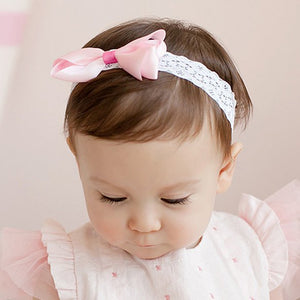 Angel Neitiri Plain Color Bow-Knot Headband (5 colors) - BabyLand.my