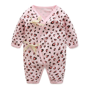 Baby Bathrobe Style Romper Series (Pink Panther) - BabyLand.my