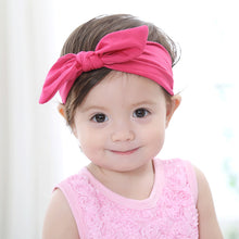 Load image into Gallery viewer, SIMYKE Adorable Bunny's Ear Headband (5 colours) - BabyLand.my