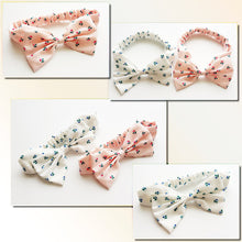 Load image into Gallery viewer, Flowers Printings Bow-Knot Headband - BabyLand.my