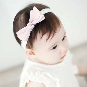 Angel Neitiri Elegant Bow-Knot Lace Headband - BabyLand.my