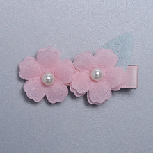 Load image into Gallery viewer, Angel Neitiri 2-Flowers Spring Hair Clip - BabyLand.my