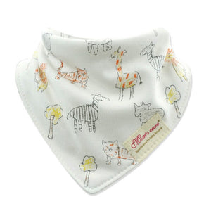 MomsCare Graphic Teething Bibs (Wildlife) - BabyLand.my
