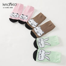 Load image into Gallery viewer, Kacakid Three Buddies Cartoon Series Short Socks - BabyLand.my