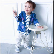 Load image into Gallery viewer, Augelute Striped Casual Boy Romper - BabyLand.my
